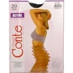 Conte Active 20 den Women's Nero Tights Size 4 - buy, prices for CityMarket - photo 6