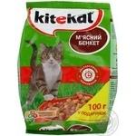 Корм для котів сухий Kitekat М'ясний Бенкет 1000г