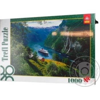 Пазли Trefl 1000 елементів - купити, ціни на Ашан - фото 1
