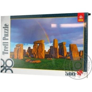 Пазли Trefl 500 елементів - купити, ціни на Ашан - фото 1