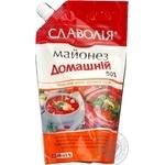 Mayonnaise Slavolia Homemade style 50% 400g doypack Ukraine