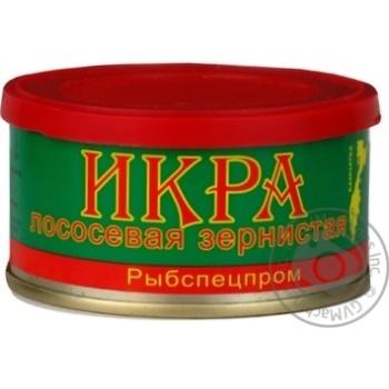 Скидка на ІКРА ЛОСОСЕВА ЗЕРН.ЧЕРВОНА Ж/Б 130Г