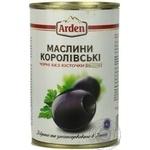 Маслини чорні Arden без кісточки 300мл