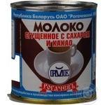 Condensed milk Rogachiv with sugar 7.5% 380g can Belarus