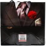 Пакет подарочный 24х23х10см в ассортименте - купить, цены на Ашан - фото 4