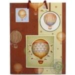 Пакет Happycom бумажный для подарка 23x18см