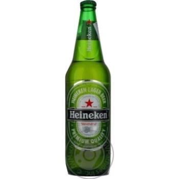 Пиво Хайнекен світле пастеризоване скляна пляшка 5%об. 650мл Голландія
