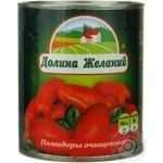Vegetables tomato Dolina jelaniy cleaned 800g can