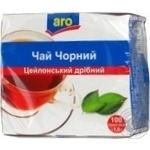 Tea Aro black packed 100pcs 150g Ukraine