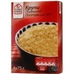 Крупа Файн Фуд Полтавская №3 пшеничная в пакетиках 300г Украина