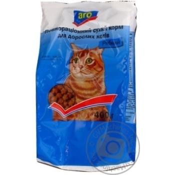 Корм Aro сухой полноценный с рыбой для котов 400г - купить, цены на Метро - фото 4