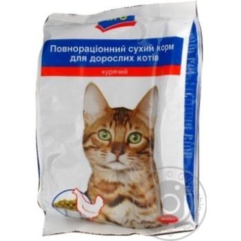 Корм Aro сухой полноценный с курицей для котов 400г - купить, цены на Метро - фото 1