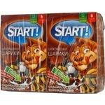 Сухие завтраки Start шарики шоколадные 75г х 4шт Украина
