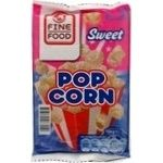 Popcorn Fine food 100g Czech republic