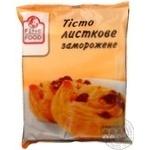 Dough Fine food leaf 1000g Ukraine