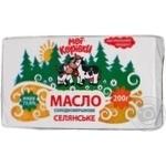 Масло Мої корівки селянське солодковершкове 72.6% 200г Україна