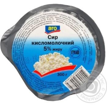 Творог Аро кисломолочный 5% 300г Украина