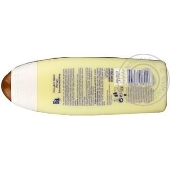 Гель для душу Fa ванільный мед 250мл - купити, ціни на Novus - фото 2