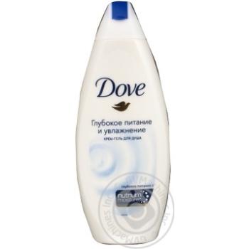 Гель-крем для душа Dove Глубокое питание и увлажнение 250мл - купить, цены на Novus - фото 5