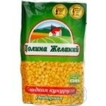 Vegetables corn Dolina jelaniy canned 350g soft packing