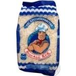 Groats rice Veselyi kok short grain white 1000g sachet