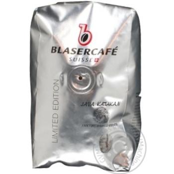 Кофе Блазеркафе Лимитед Эдишн Ява Катакан жареный в зернах 250г Швейцария - купить, цены на МегаМаркет - фото 2