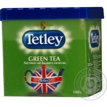Чай зелений Tetley Green 100г