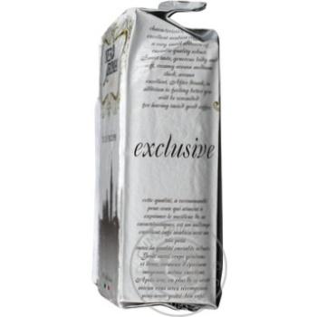Кофе Нэро Арома Эксклюзив натуральный жареный молотый 250г Италия - купить, цены на Novus - фото 2