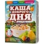 Каша Амо Доброго дня овсяная курага, изюм, чернослив, груша 40г х 5шт Украина