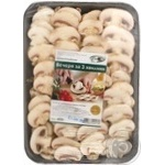 Baby bella mushrooms sliced Dinbo 400g Ukraine