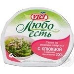 Seafood Vici Lyubo est cranberry pickled 200g Russia