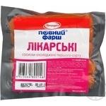 Sausages Baschinskyi Doctorskie chicken 400g Ukraine