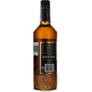 Виски Black Velvet 3 года 40% 0,7л - купить, цены на Novus - фото 2