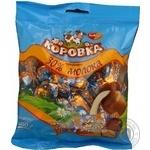 Цукерка Рот фронт Корівка в молочному шоколаді 250г поліетиленовий пакет Росія