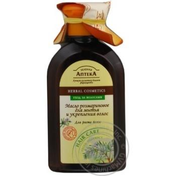 Олія для волосся Зелена Аптека Розмаринова 250мл