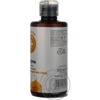 Шампунь Домашній доктор для сухого волосся Маточне молочко,мед 300мл - купить, цены на Novus - фото 5