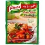 Spices Knorr in sauce to pork 25g Ukraine