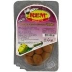 olive Rem with bone vacuum packing