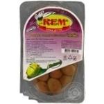 Оливки Рем Коктейль зеленые с косточкой 150г Турция