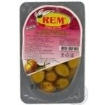 olive Rem green canned 200g vacuum packing Turkey
