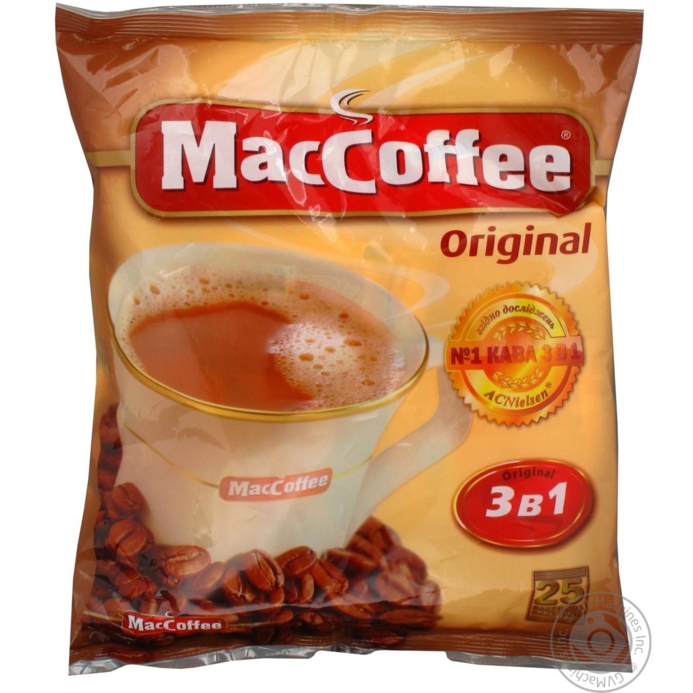 Напиток кофейный маккофе 3в1 ориджинал
