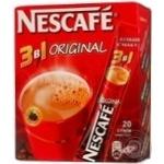 Instant coffee drink Nescafe Original 3in1