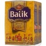 Tea Batik black loose 50g cardboard packaging Ukraine