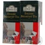Чай Ахмад Англійський до сніданку чорний 2г х 40шт