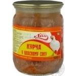Цыпленок Лан Буковины в собственном соку консервированное 500г Украина