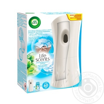 Air Wick Air Freshener Morning Freshness Automatic 250ml - buy, prices for MegaMarket - image 1