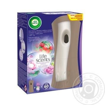 Автоматический освежитель воздуха Air Wick Freshmatic Life Scents многослойный Сказочный сад 250мл - купить, цены на Ашан - фото 1