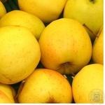 Fruit apple golden Perekrestok fresh Ukraine