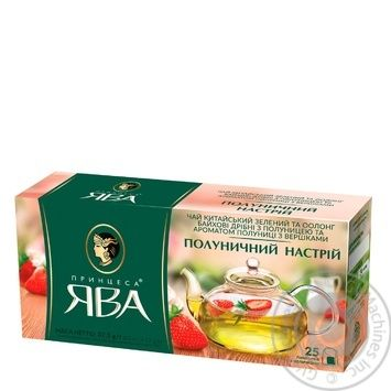 Tea Princess java strawberries with cream 25pcs 50g - buy, prices for MegaMarket - image 2