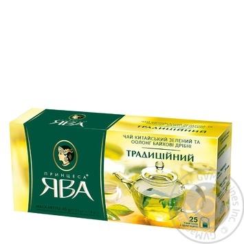 Чай зелений Принцеса Ява Традиційний оолонг 25шт 1,8г - купити, ціни на Novus - фото 2